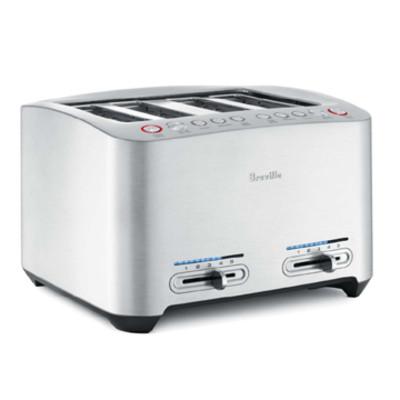 BREVILLE BTA840XL Toaster 4sl smart die cast met