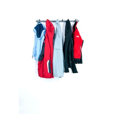 Small Garage Coat Rack