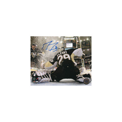 Marc-Andre Fleury Autographed 16X20 Photo