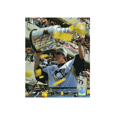 Marc-Andre Fleury Autographed 16X20 Photo (Parade)