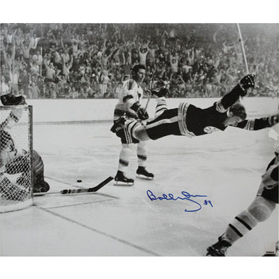 Bobby Orr Autographed 16X20 Photo