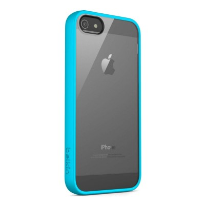iPhone 5 / 5S View Case by Belkin - Blue Color