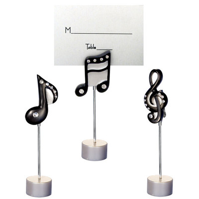 Music Note Place Card Holders - Set of 3 - Aim - 58911
