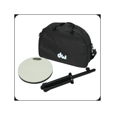 DW Practice Drum Pad with Stand, Sticks, Bag - DW - DWCPPADSTDBG