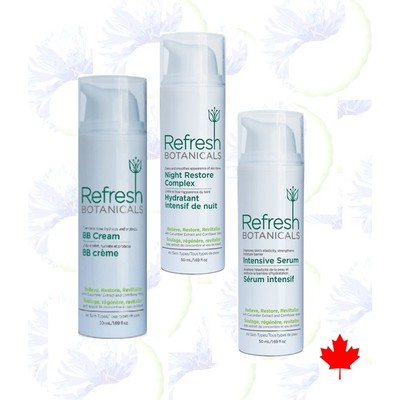Refresh Botanicals Advanced Facial Care System Twin Pack