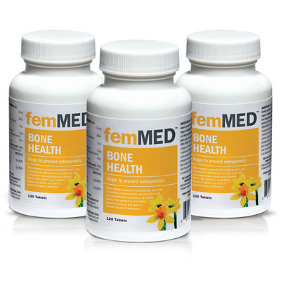 femMED Bone Health 3pk  (3 x 120 tablets)