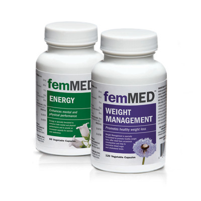 Weight + Energy 2 pk (60 + 120 vegetable capsules