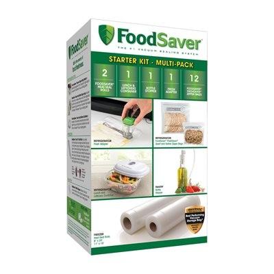 Food Saver FSFSBF0123-033 Accessory Starter Kit -Multi- Pack