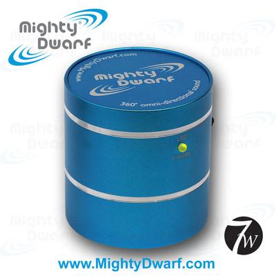 Mighty Dwarf Blue 7 Watt Multimedia Vibration Speaker (773098030180)