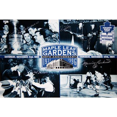J. Bower, Mahovlich, Kelly, M. Richard & Kennedy - Maple Leafs - Canadiens