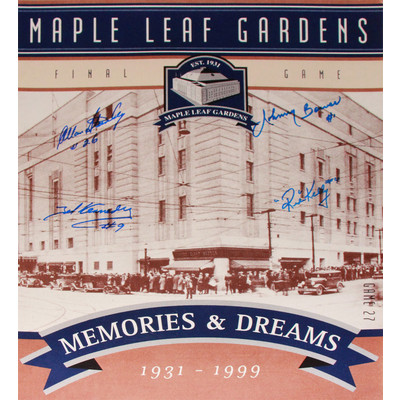 TML Gardens Final Ticket - Stanley, Kennedy, Bower & Kelly - 16x20 Photograph