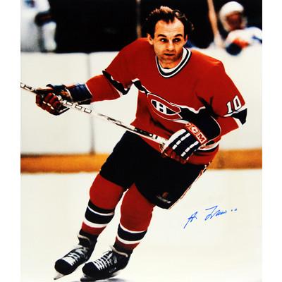 Guy Lafleur 16X20 Autographed Photograph - Montreal Canadiens (Action)