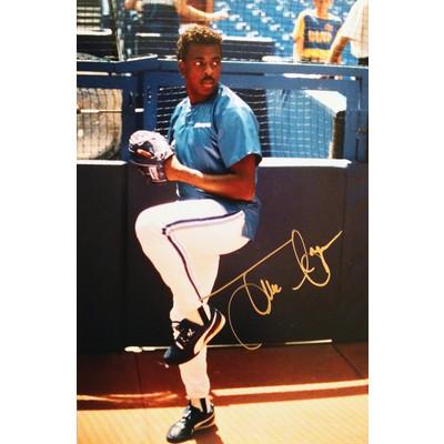 Juan Guzman Autographed 4X6 - Toronto Blue Jays (World Series Champion)