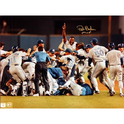 Pat Borders - Toronto Blue Jays World Series Celebration