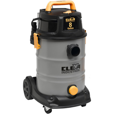 Dura Vac  30 L / 8 US Gallon 2 Stage Industrial Wet Dry Vacuum 2.5 inches Hose