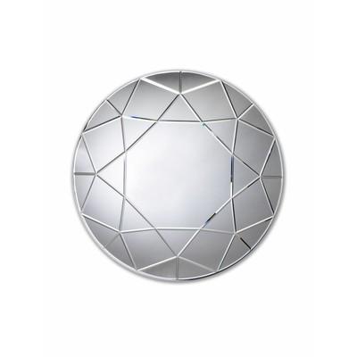 Round Diamond Wall Mirror