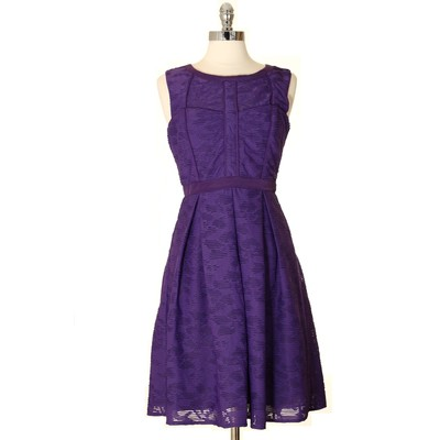 Inspired by the 50's Dress Purple