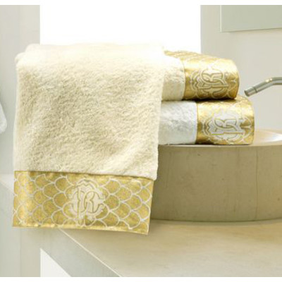 Gold Guest Towel by Roberto Cavalli