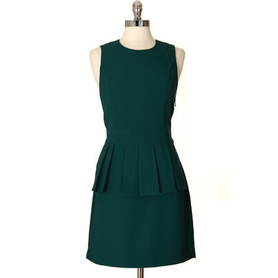 Simple Yet Refined Peplum Dress