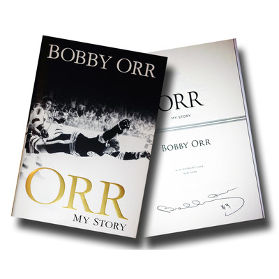"Bobby Orr ""My Story"" Book - Autographed - Boston Bruins"