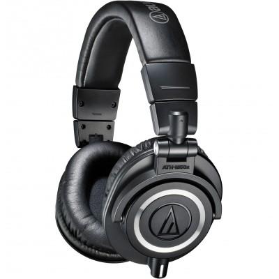 Audio-Technica ATH-M50x Professional Monitor Headphones - Black - Audio-Technica - ATH-M50X (HAHPATEATHM50X)