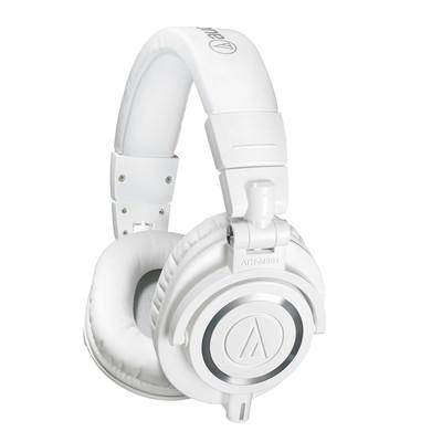 Audio-Technica ATH-M50x Professional Monitor Headphones - White - Audio-Technica - ATH-M50XWH (HAHPATEATHM50XW)