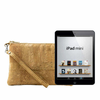 iPad Mini Cork Wristlet