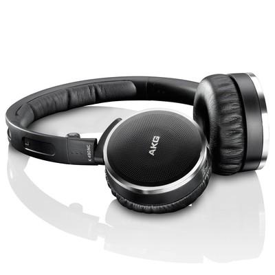AKG K490NC High-Performance Active Noise-Cancelling Headphones (Black)