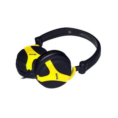 AKG K518LE Limited Edition Folding Headphones (Yellow)