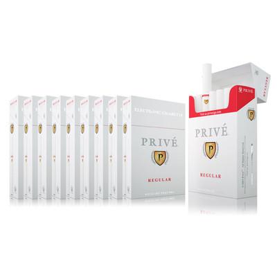 Carton of Regular (Tobacco) Flavour - 10 Packs (six e-cigs per pack)