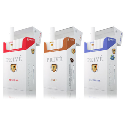 Variety Flavour Bundle (3 Packs - 1 pack of each Regular, Coffee & Blueberry - six e-cigs per pack)
