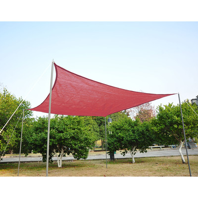 12' Square Sail Shade - Rust Red