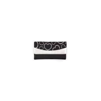 Mascalzone Latino Horizontal Sab Eco-Leather Lady's Wallet - Black