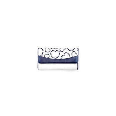 Mascalzone Latino Horizontal Sab Eco-Leather Lady's Wallet - Blue