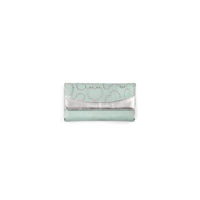 Mascalzone Latino Horizontal Sab Eco-Leather Lady's Wallet - Ice Green