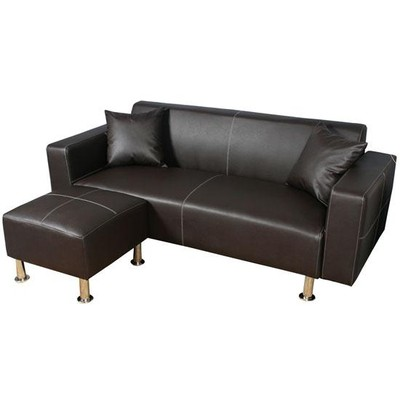 Loveseat Sofa Set - Brown