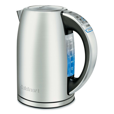 Cuisinart-Refurbished PerfecTemp Cordless Electric Programmable Kettle (CPK-17C), Manufacturer Recertified
