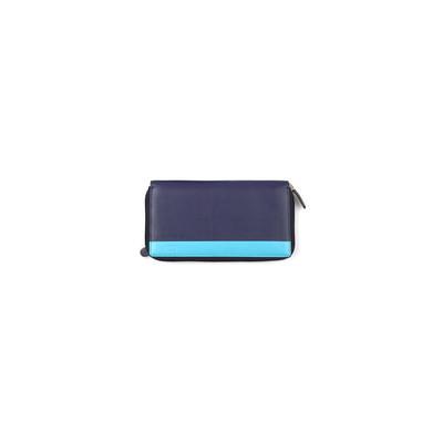 Mascalzone Latino Lady's Leather Wallet - Blue