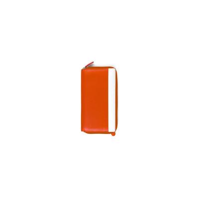 Mascalzone Latino Lady's Leather Wallet - Orange