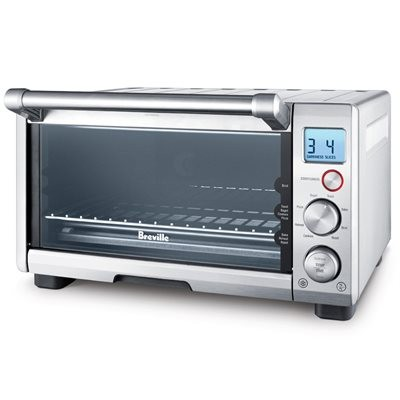 Breville-Refurbished BOV650XL Compact Smart Oven 1800-Watt Toaster Oven with Element IQ
