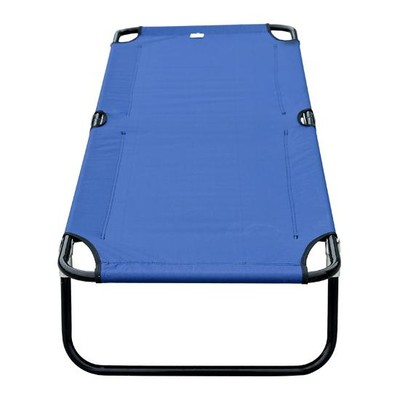 Camping Cot - Blue