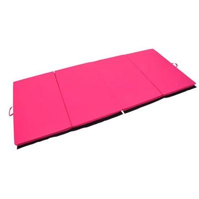 """4'x10'x2"""" Gym Mat - Pink"""