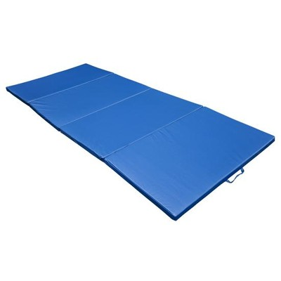 """4'x10'x2"""" Gym Mat - Blue"""