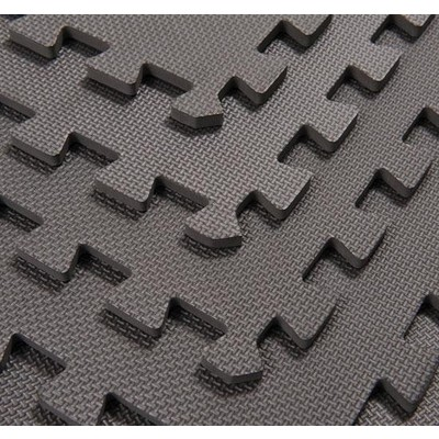 Grey Interlocking Foam Tiles - Set of 6