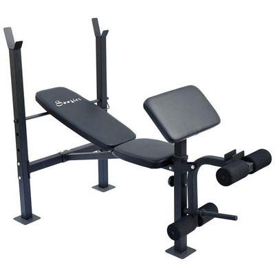 Incline Weight Bench with Preacher Curl