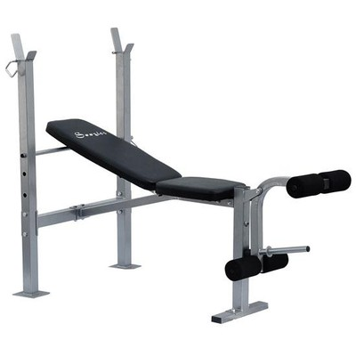 Incline Weight Bench with Leg Extension