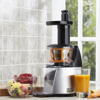Salton Refurbished Vita Pro Low Speed Juicer (JE1372)