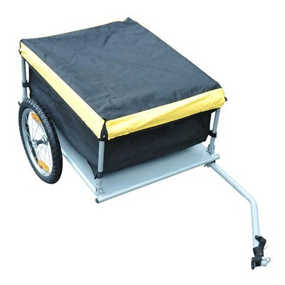 Bicycle Cargo Trailer - Black/Yellow