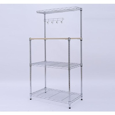 Multilevel Bakers Rack