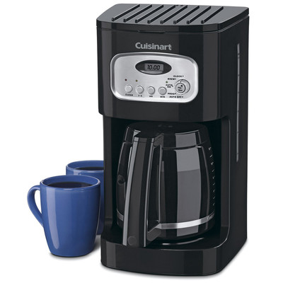 Cuisinart-Refurbished 12-Cup Classic Programmable Coffeemaker, Black (DCC-1100BK), Manufacturer Recertified